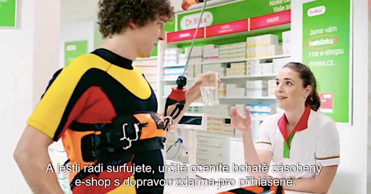 Dr.Max spouští novou kampaň s nápadníkem lékárnice