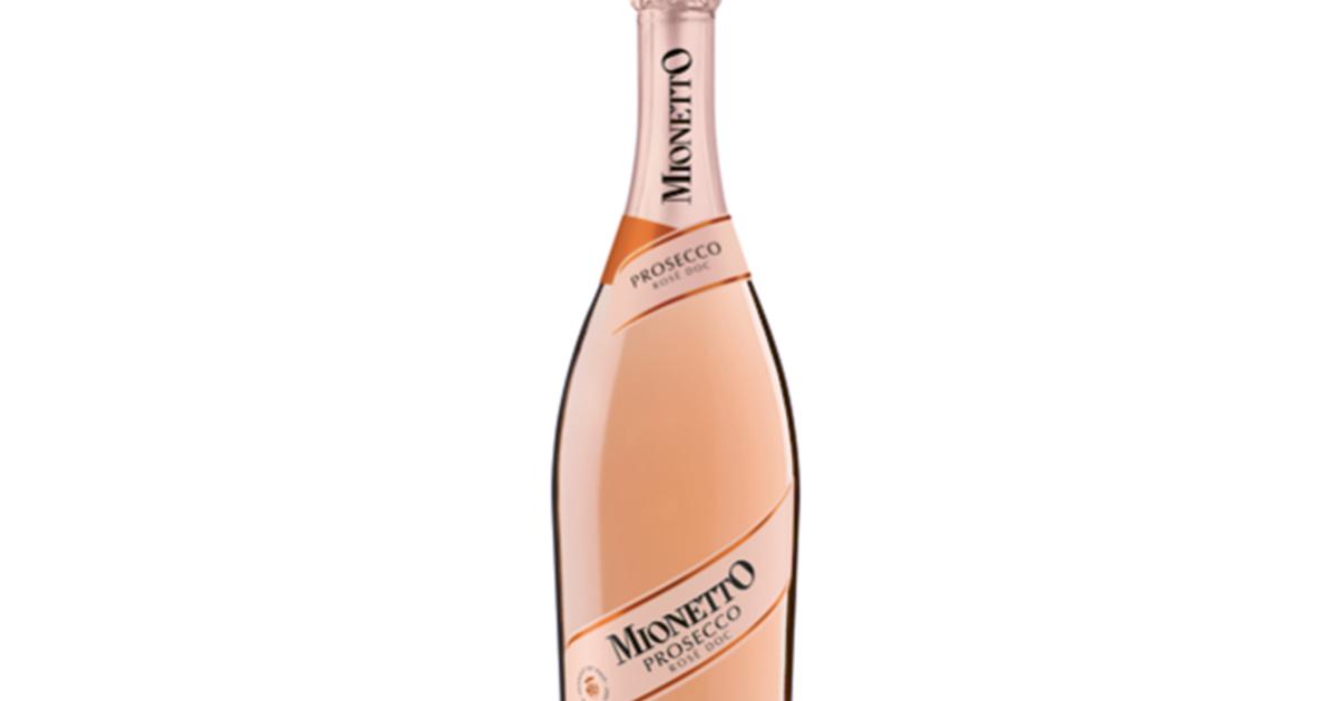 Mionetto na český trh uvádí růžové prosecco