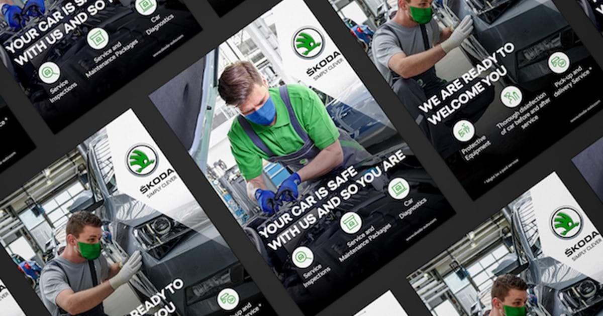 Škoda Auto podporuje v globální kampani nový e-shop