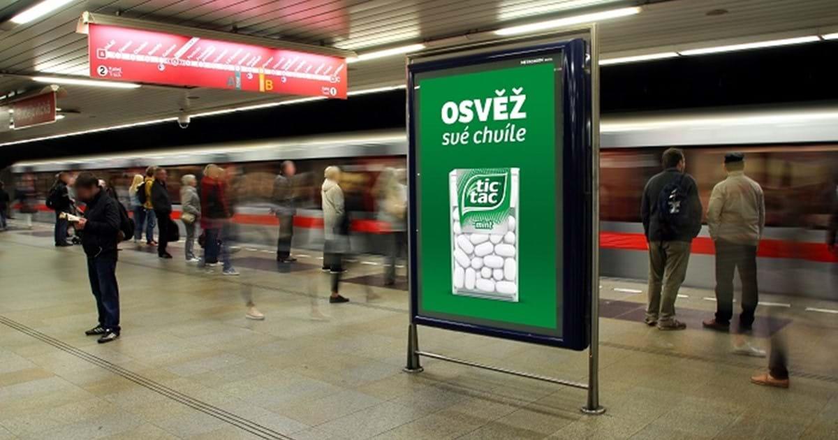 MetroZoom rozšířila v metru síť digitálních CLV