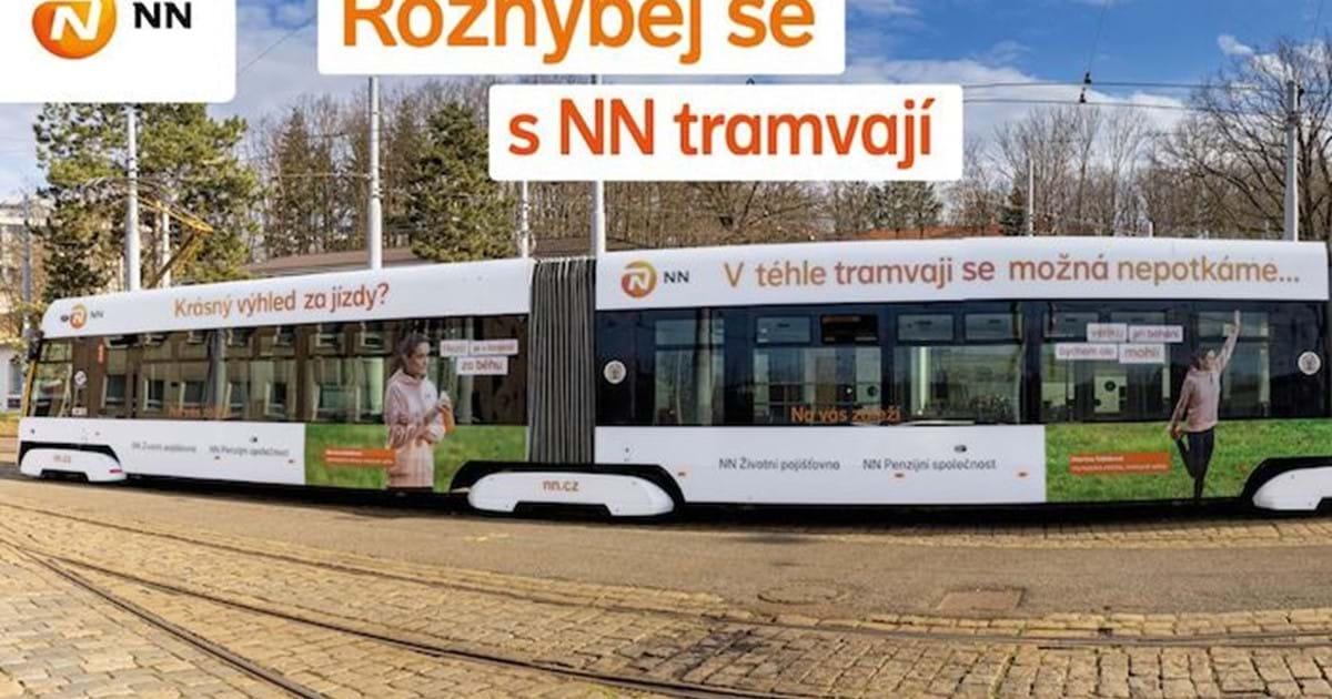 NN pojišťovna vysílá do Prahy běžeckou tramvaj