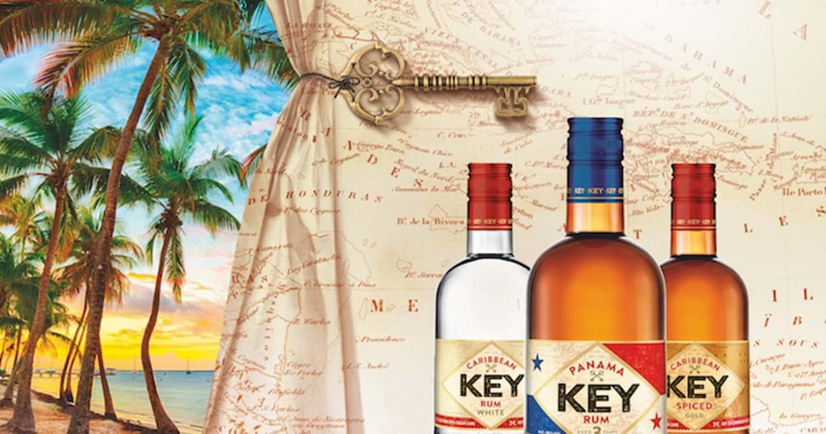 Key Rum přichází vnovém designu a nové lahvi