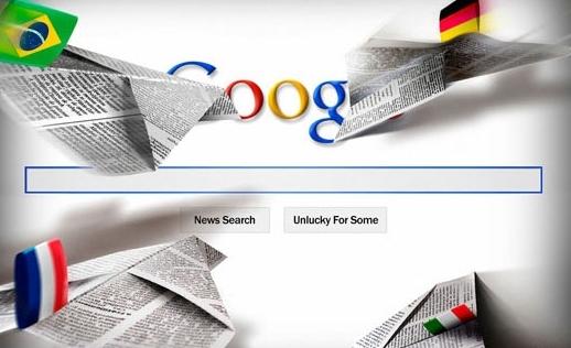 Google a tisk v Belgii