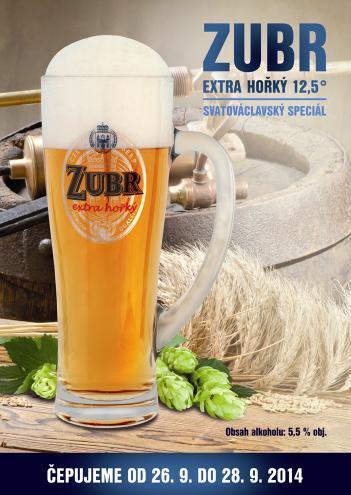 Vizuál ke Dni českého piva značky Zubr