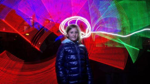 Intel: workshop Malování světlem