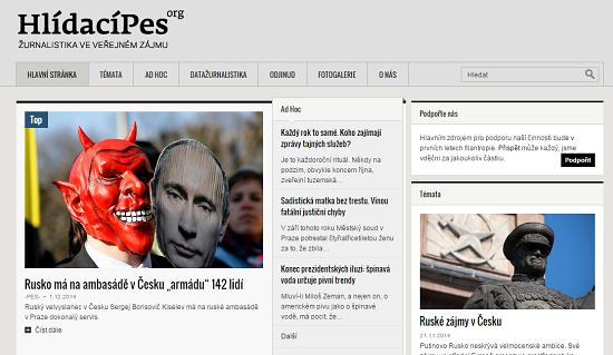 Nová podoba serveru Hlídací pes od 10.12. 2014.