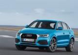 Standaufnahme    Farbe: Hainanblau    Verbrauchsangaben Audi Q3:Kraftstoffverbrauch kombiniert in l/100 km: 8,8 - 5,2;CO2-Emission kombiniert in g/km: 206 - 137