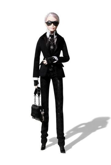 Sběratelská edice Barbie - Karl Lagerfeld