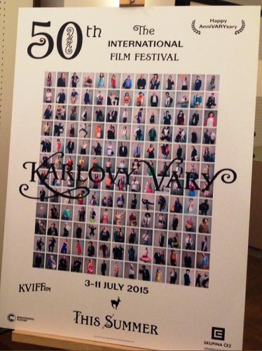 Vizuál s účastníky festivalu na portrétech