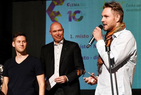 CEO Starmedia Branislav Polák na vyhlášení cen Flema Media Awards. Foto: Flemedia