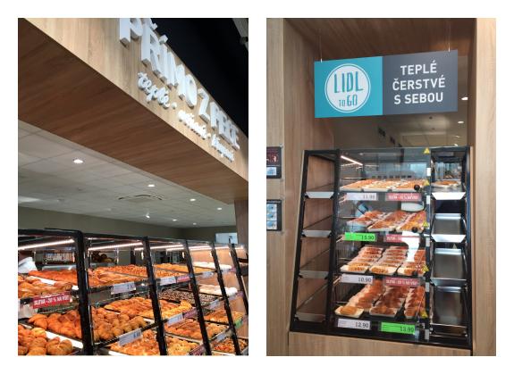 Nová prodejna má i větší pekárnu, rovněž testuje nový koncept pekárenských výrobků on-to-go, foto: MediaGuru.