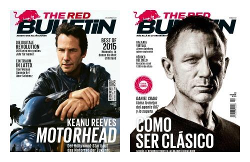 The Red Bulletin v německé a španělské verzi