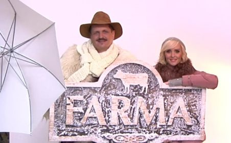 Z pořadu Farma, zdroj: TV Markíza