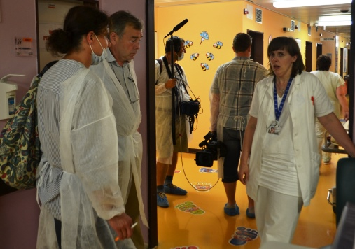 Z pořadu Nemocnice Motel, zdroj: FTV Prima