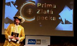 Předávání cen moderoval Jakub Kohák.