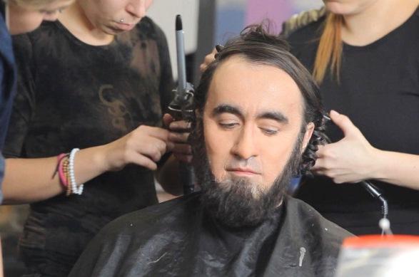 Jakub Kohák v práci maskérů, foto: TV Nova