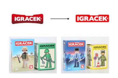 Nové obaly i logo značky Igráček