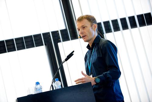 Petr Bena na konferenci Retail in Detail 2016, foto: Blue Events.