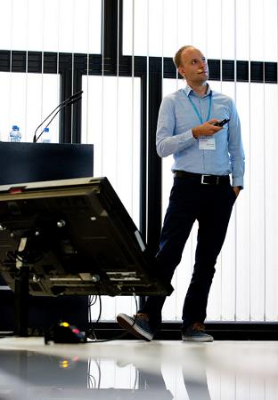 Ondřej Klega na konferenci Retiail in Detail 2016, foto: Blue Events