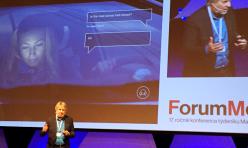 Igor Skokan na konferenci Forum Media 2016.