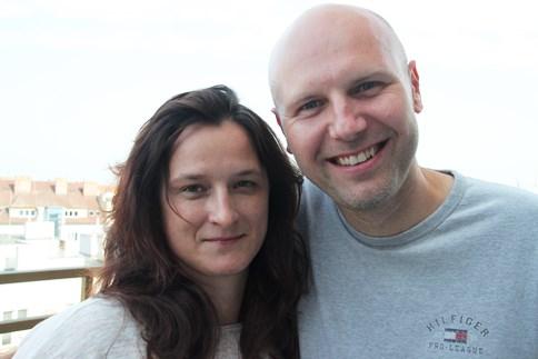 Irena Siudová a Tomáš Celer.