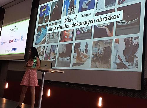 Veronika Galíková na Content First