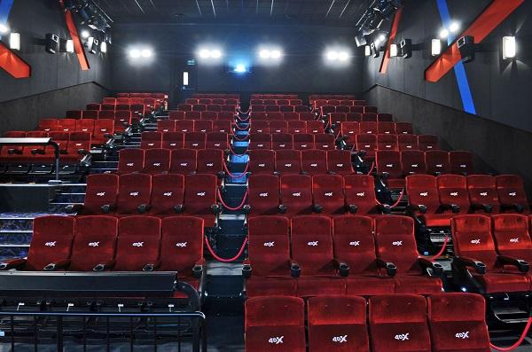 Sál 4DX na Chodově, foto: Cinema City